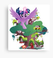 my little pony twilight sparkle home sweet home Canvas Print