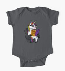 Unicorn Believe in Yourself Magical Fabulous One Piece - Short Sleeve