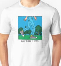 Allow Yourself To Wander Unisex T-Shirt