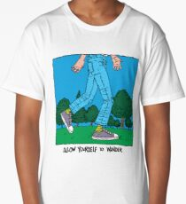 Allow Yourself To Wander Long T-Shirt