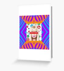Barbie Girl Greeting Card