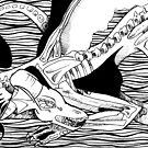 Mini Morbid Water Dragon by DarkBunnyStudio