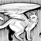 Catwings Mini Morbid 2 by DarkBunnyStudio