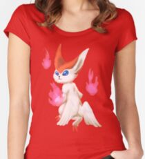 Shiny Victini Women's Fitted Scoop T-Shirt