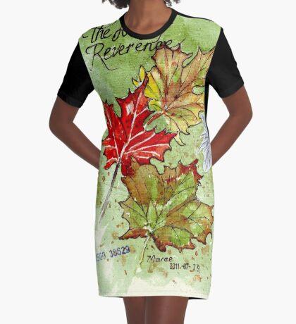 Die Kunst der Verehrung T-Shirt Kleid