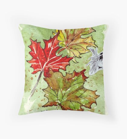 The Art of Reverence Throw Pillow