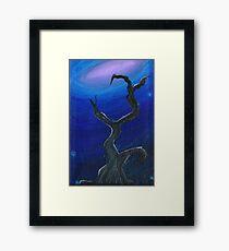 Galaxy Tree Framed Print