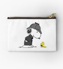 Snoopy Holmes and Woodstock Watson Studio Pouch