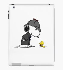 Snoopy Holmes and Woodstock Watson iPad Case/Skin
