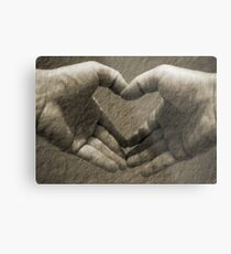 With love... Metal Print