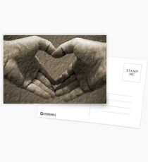 With love... Postcards