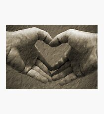 With love... Photographic Print