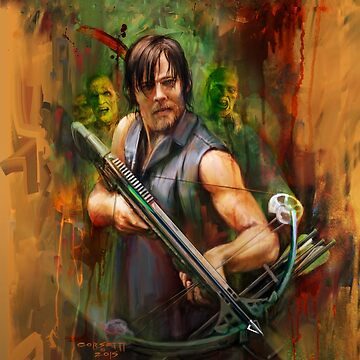 Daryl Dixon Walker Killer by corsetti