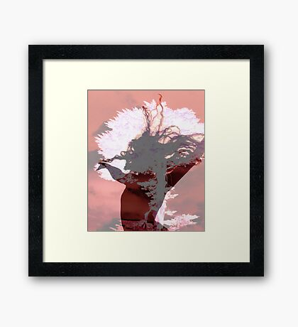 Nature dance Framed Print