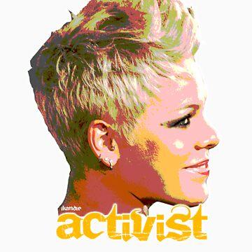 Pink Activist by ikandie