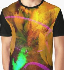 flower flames and fireflies Graphic T-Shirt