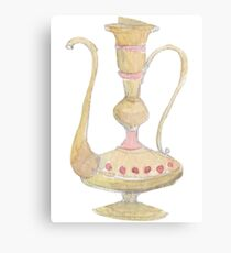 Lamp Of Aladdin Fantasy Canvas Print