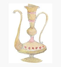 Lamp Of Aladdin Fantasy Photographic Print