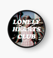 LONELY HEARTS CLUB Clock