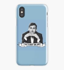 The Office: Michael Scott: That's What She Said! iPhone Case/Skin