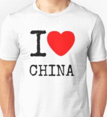 I LOVE CHINA Unisex T-Shirt