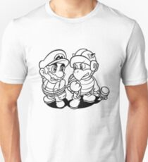 Mario and Koopa Troopa Unisex T-Shirt
