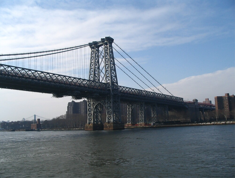 Manhatten Bridge NYC by Irene Clarke