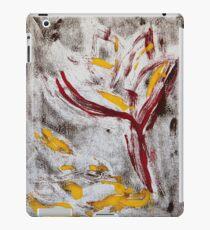 Lotus falling iPad Case/Skin