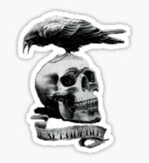 Expendable Crow Sticker