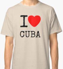 I lOVE CUBA Classic T-Shirt