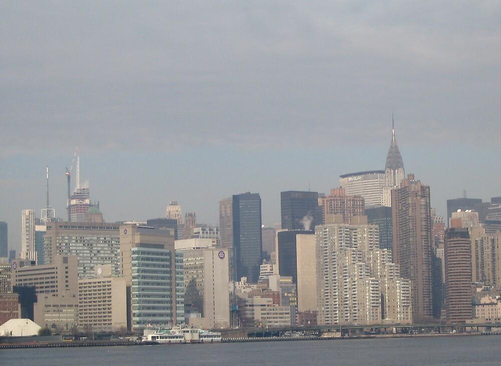 The Crysler Building New York City by Irene Clarke