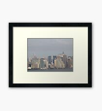 The Crysler Building New York City Framed Print