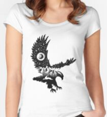 BALD EAGLE Women's Fitted Scoop T-Shirt