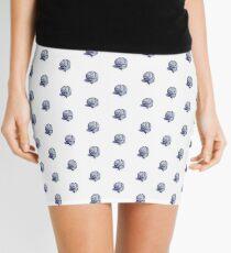 Blue Snail Mini Skirt
