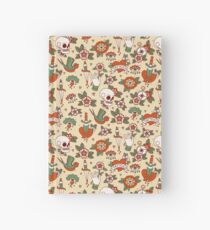 Traditional Old School Tattoo Pattern Hardcover Journal
