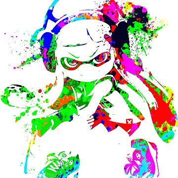 Inkling Girl Splat by Nobukuro
