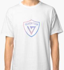 SEVENTEEN Badge - Rose Quartz & Serenity Classic T-Shirt