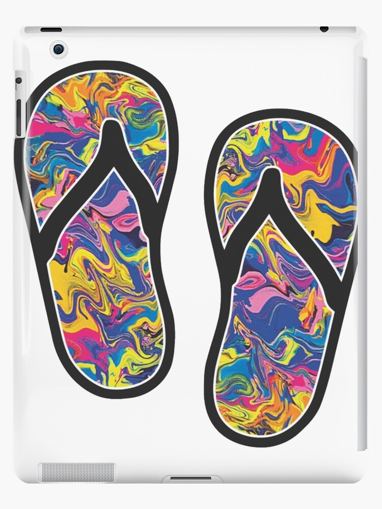 Psychedelic Sandals  by FortuneCookieTs