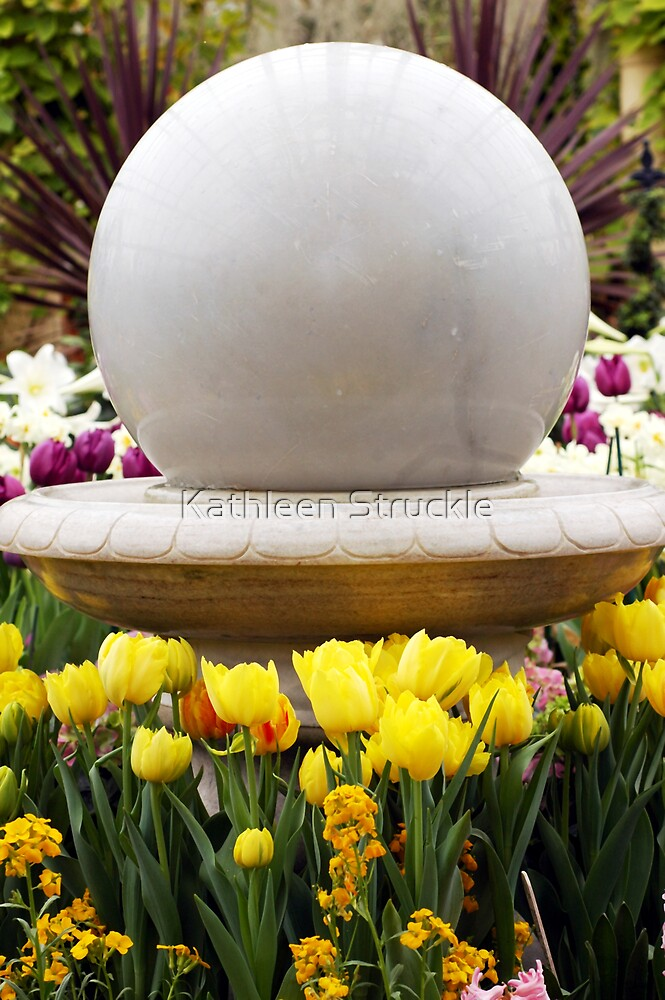 Flowers Around The Sphere by Kathleen Struckle