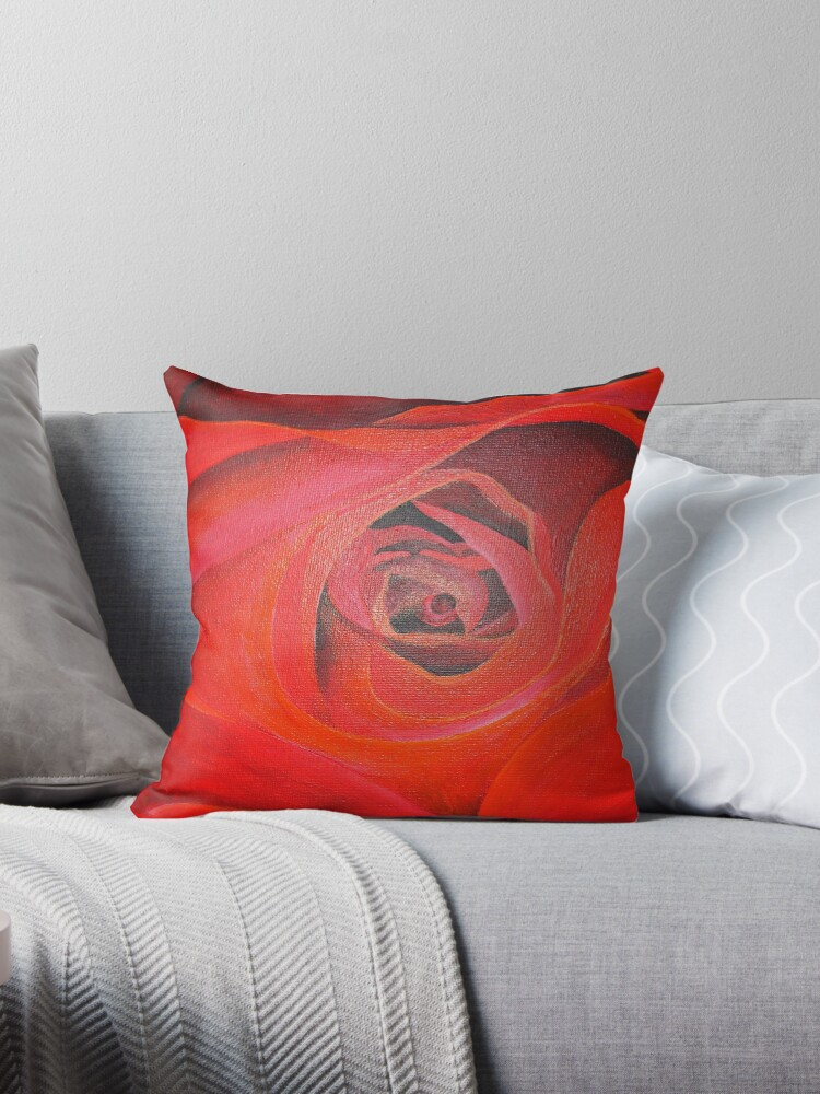 Heart Shaped Valentine Red Rose by taiche