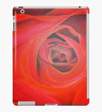 Heart Shaped Valentine Red Rose iPad Case/Skin