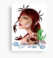Astrology :-Cancer Canvas Print