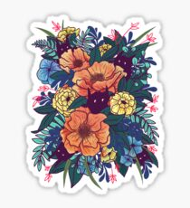 Wild Flowers Sticker