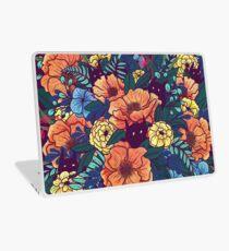 Wilde Blumen Laptop Folie