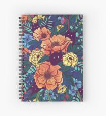 Cuaderno de espiral Flores silvestres