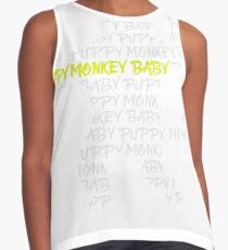 Puppy Monkey Baby Contrast Tank