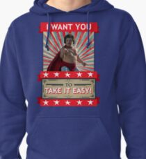 Nacho Libre - I Want You To Take It Easy Pullover Hoodie