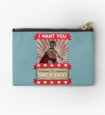 Nacho Libre - I Want You To Take It Easy Studio Pouch