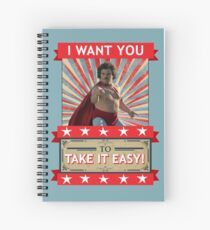 Nacho Libre - I Want You To Take It Easy Spiral Notebook