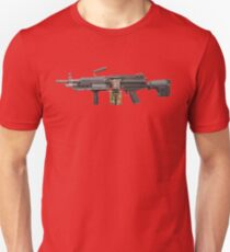 MILITARY MACHINE GUN merchandise Unisex T-Shirt